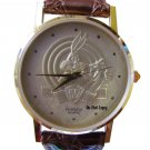 NEW Armitron Bugs Bunny 50th Anniversary Silhouette Gold Watch HTF