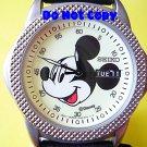 MINT Disney Men's Mickey Mouse Lumibrite Date Day SEIKO Watch HTF