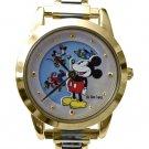 NEW Disney Mickey Minnie Mouse, Goofy, Pluto, Donald Italian Charm Watch HTF