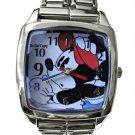 NEW Disney Mickey Mouse Mega Double Italian Charm Watch