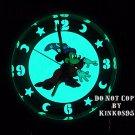 NEW Unisex Disney Mickey Mouse Sorcerer Fantasia Lights-Up Gold Watch HTF