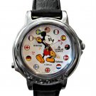NEW Disney Lorus Mickey Mouse Musical Unisex Silver Watch HTF