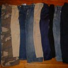 LOT of 10 Children Boys Jeans Pants Size 7, 4/5, 6, 5, 6/7