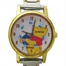 NEW Disney/Seiko Winnie The Pooh w/Bees Italian Charm Watch HTF