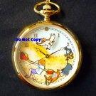 NEW Disney Fossil Winnie The Pooh & Honey Tree Pocket Watch