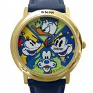 NEW Disney Jaz Mickey Mouse Donald Duck Minnie Mouse Goofy Watch HTF
