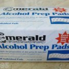 Lot of 6 - MERALD Alcohol Prep Pads 100/Box Extra Thick Soft Pad