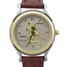 NEW Ladies Disney Mickey Mouse Gold Silhouette Watch HTF
