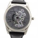 New Men's Disney Fossil Mickey Mouse Silver Silhouette Limited Edition Watch HTF