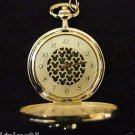 NEW Disney Mickey Mouse Gold Icons Pocket Watch HTF