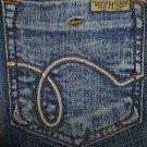 NWT Ladies HINT Stretch Denim Jeans Juniors Size 9