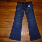 NWT Ladies GLO Stretch Flare Jeans Juniors Size 9
