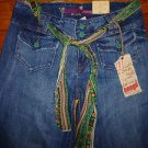 NWT Ladies BONGO Wide Leg Let me b Jeans Juniors Size 9