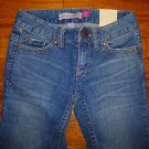 NWT Ladies AEROPOSTALE Kailey Skinny Flare Jeans Juniors Size 00 Regular