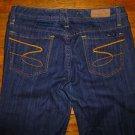 NWOT Ladies Seven 7 Premium Flare Dark Blue Jeans Size 30