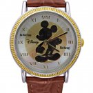 NEW Disney Mickey Mouse Gold Silhouette Coin Watch HTF