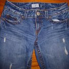 Ladies AEROPOSTALE Kailey Skinny Flare Jeans Juniors Size 5/6 Regular