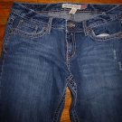 Ladies AEROPOSTALE Kailey Skinny Flare Jeans Juniors Size 7/8 Long