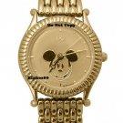 NEW Disney Jaz Mickey Mouse Gold Watch HTF