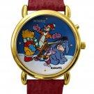 NEW Disney Winnie The Pooh Tigger Piglet Eeyore Christmas Musical Watch HTF