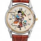 NEW Disney Fossil Pinocchio & Jiminy Cricket Film Classics Watch HTF