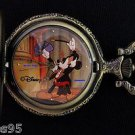 NEW Disney Mickey Mouse Minnie Limited Edition Magician Pocket Watch HTF
