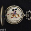 "NEW Disney Mickey Mouse Limited Edition ""Monday"" Fun w/Music Day Pocket Watch"