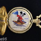 "Disney Mickey Mouse Limited Edition 'Wednesday"" Sorcerer Fantasia Pocket Watch"