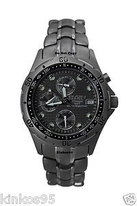 NEW Men's Elgin Titanium Multifunction Watch