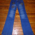 NEW Ladies Brazilian Embellished Jeans Size 40 or 5/6