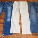 LOT OF 3 - Ladies Tommy Hilfiger Jeans Size 9