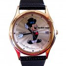NEW Disney Mickey Mouse Date SEIKO Starburst Tuxedo Watch HTF