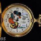 NEW Disney Colibri Mickey Mouse Golf Pocket Watch HTF