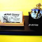NEW Walt Disney Fossil Mickey Mouse Limited Edition Gold Pocket Watch HTF