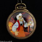 NEW Disney Fossil Pinocchio Geppetto's Workshop Limited Edition Pocket Watch