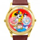 NEW Disney Mickey Mouse Limited Edition Bandleader Dual Time Watch HTF