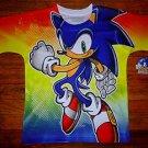 NEW Boys Sonic The Hedgehog Sega T Shirt