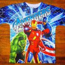 NEW  Boys Marvel Avengers The Hulk Captain American Thor Iron Man T Shirt