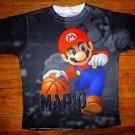 NEW Boys Super Mario & Donkey Kong Nintendo Basketball T Shirt