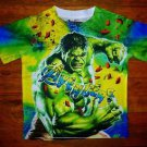 "NEW Colorful Marvel Avengers The HULK Comics T Shirt ""I'm Always Angry"""