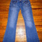 Ladies AEROPOSTALE Kailey Skinny Flare Jeans Juniors Size 3/4 Short