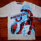 NEW Boys Iron Man 2 Suitcase Suit Mark V  T-Shirt