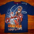 NEW Boys Iron Man 2 & Whiplash T Shirt