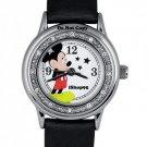 NEW Disney SII Mickey Mouse Rhinestone Stars Watch HTF