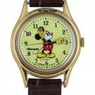 NEW Disney Lorus Mickey Mouse Yellow Gloves Watch HTF