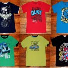 LOT of 6 Boys Transformers, Oshkosh, Faded Glory Mixed T Shirts Size 7
