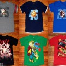 LOT of 6 Boys WWE, Alvin, Dragon Mixed T-shirt Top Size 6-7 Small