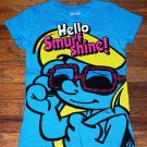"NEW Girls Smurfette ""Hello Smurf Shine"" T Shirt"