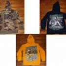 Lot of 3 Boys Sweatshirt Hoodies Authentic Sportswear Place, GAP Size 7/8 Medium
