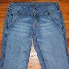 Ladies JORDACHE Distress Stretch Jeans Juniors Size 9/10